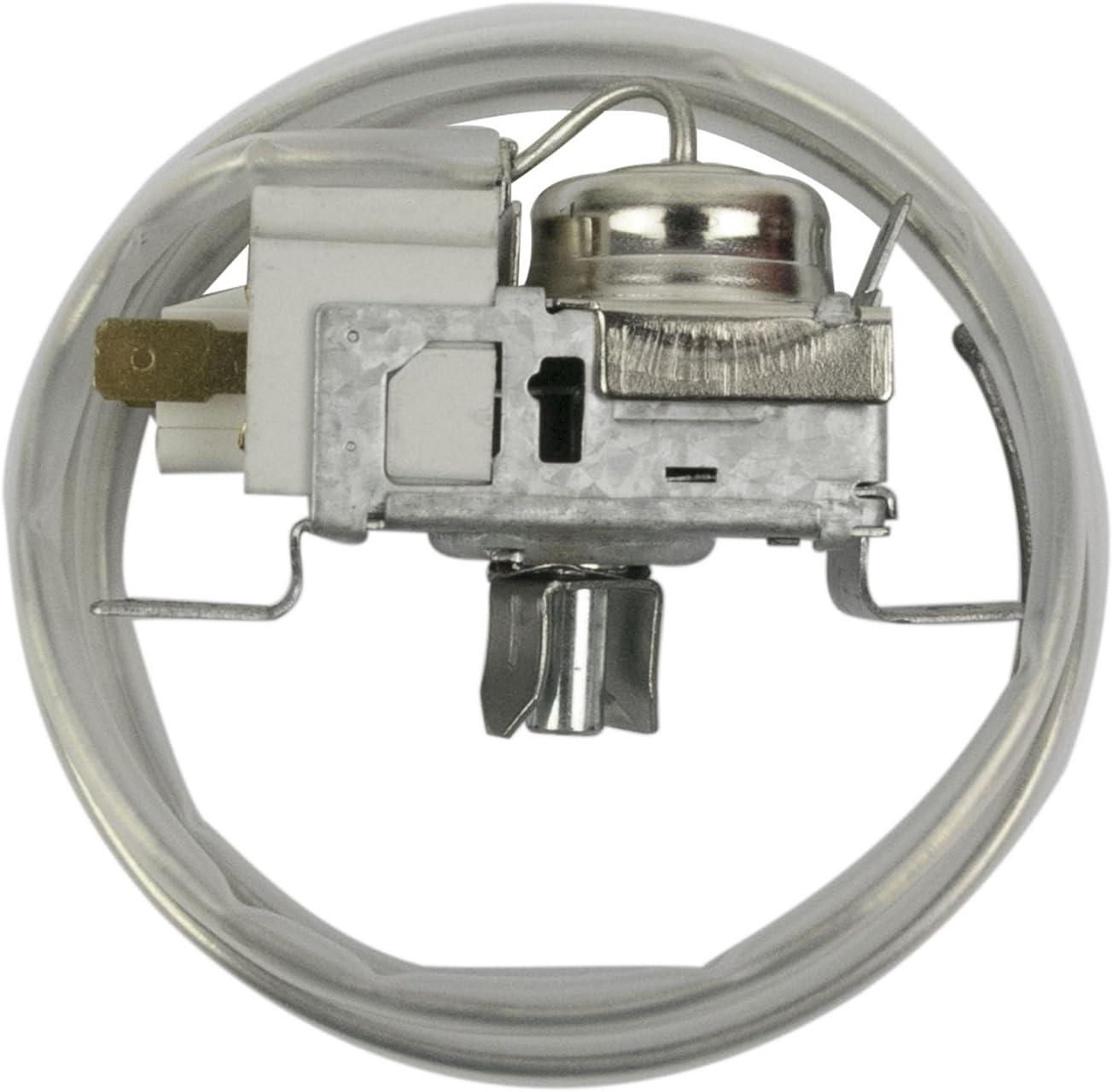 Ranco Termostato Sensor de l2082/K22/2/mm para heladera kapillarr ohrl /änge 2000/mm