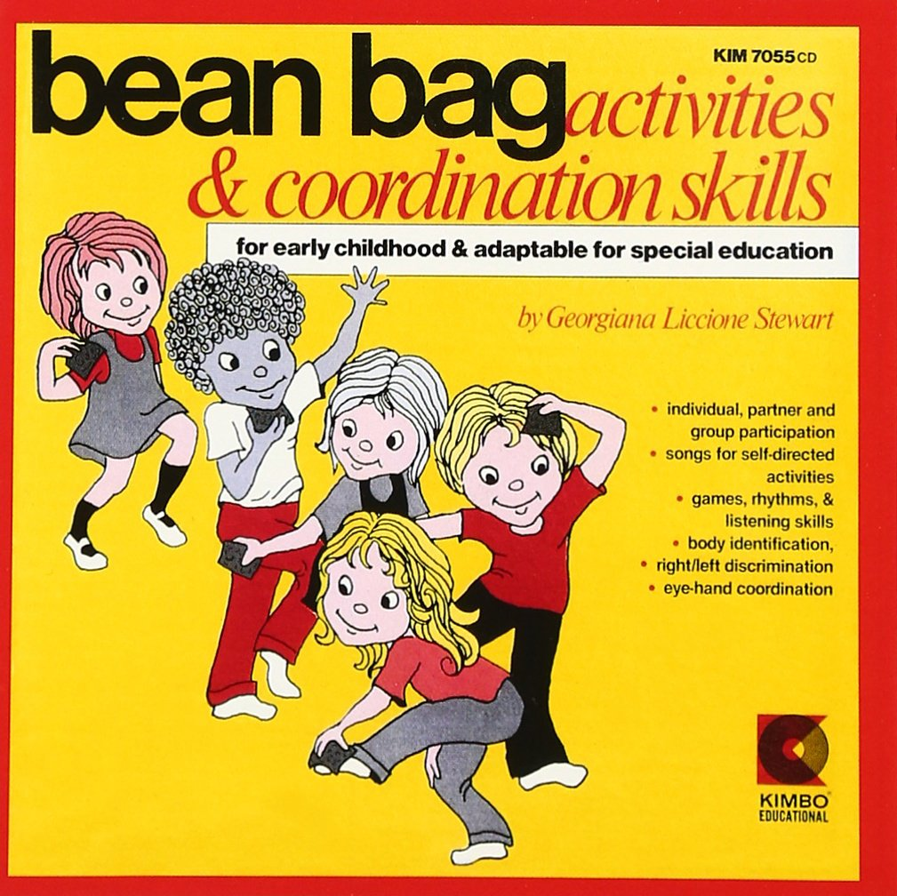 Bean Bag Activities & Coordination Skills by Kimbo