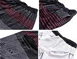 Unitop Men's Quick Dry Striped Print Swim Trunk