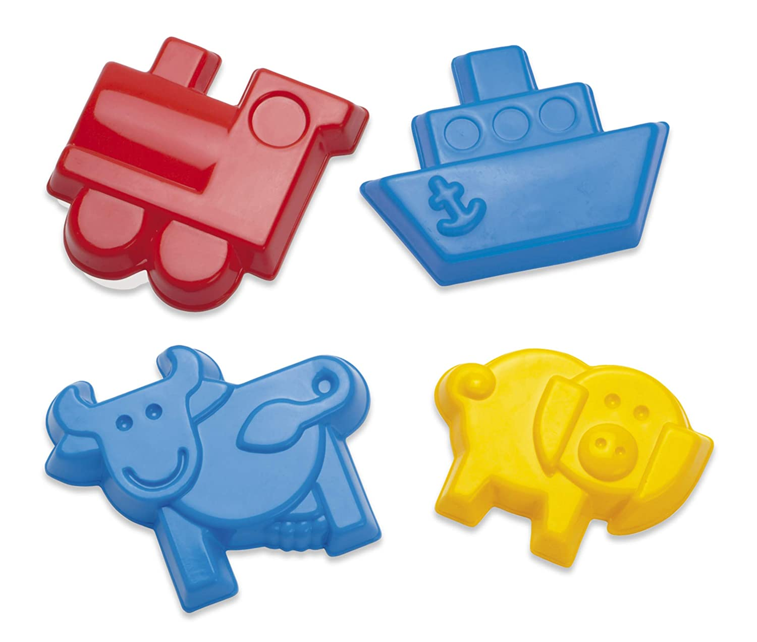 4.4853 Length 0.78 Height 3.7051 Wide 4.4853 Length Dantoy 0.78 Height American Educational Products DT-1245 Sand Molds-Variety Activity Set 3.7051 Wide