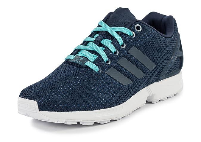 new arrival ab997 b3b3b adidas ZX Flux W Bleu Nuit Bleu 38  Amazon.fr  Chaussures et Sacs