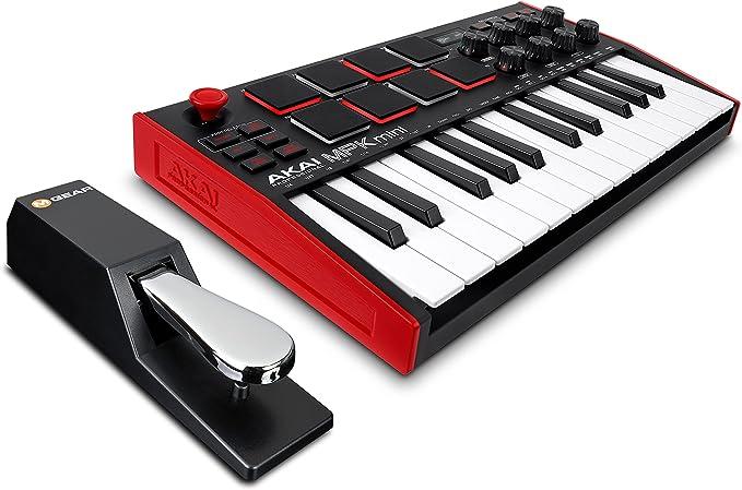 AKAI Professional MPK Mini MK3 + M-Audio SP-2 - Teclado ...