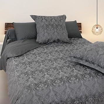 Bettwäsche 240 X 220 Cm Baumwolle Satin Vogesen Amazonde Küche