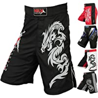MRX Mens MMA Fight Shorts UFC Cage BJJ Fighting Sports Trunk Active Boxing Kickboxing Muay Thai Grappling