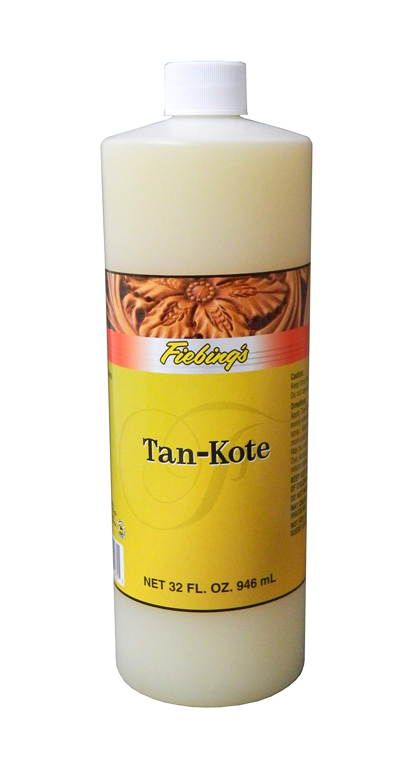 Fiebing's Tan Kote 32oz - top finish for leather