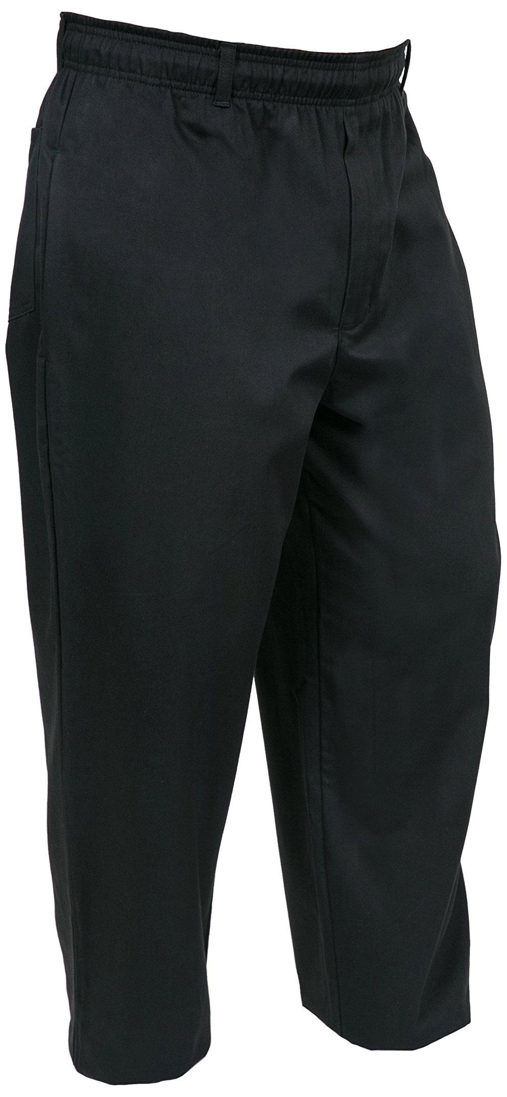 Mercer Culinary M61060BK6X Genesis Men's Chef Pant, 6X-Large, Black by Mercer Culinary