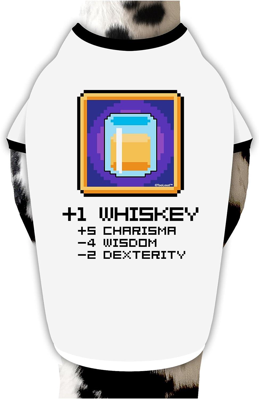 TooLoud Pixel Whiskey Item Infant T-Shirt Dark
