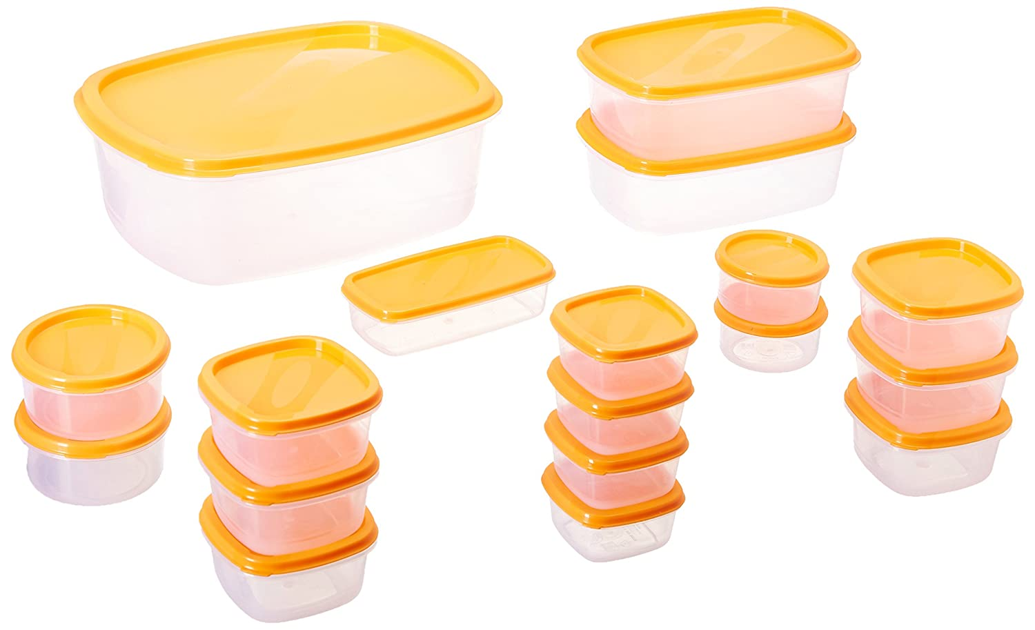 Best Offer Container Set, 18-Pieces at 249 MRP 529