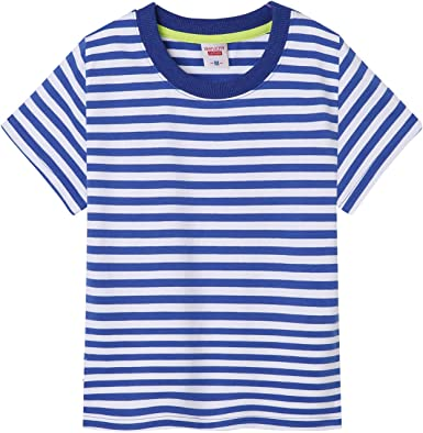 Kids Boys Girls Unisex Top Cotton T Shirt 260