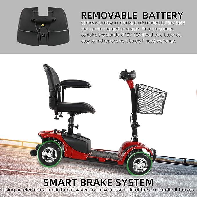 Amazon.com: engwe Scout compacto de viaje Power Scooter ...