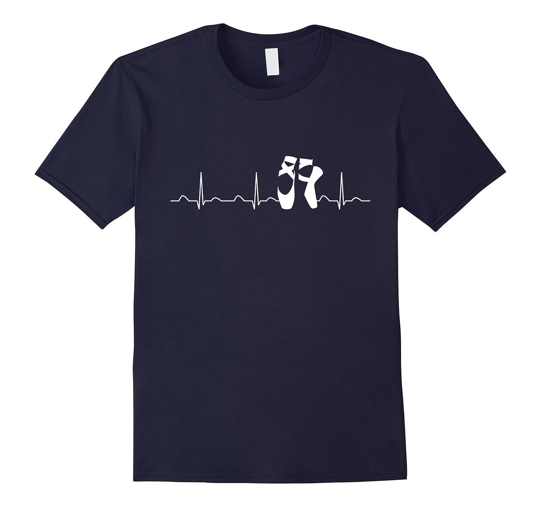 Ballet Shoes Heartbeat, Funny Cute EKG Ballerina Dance Gift-Art