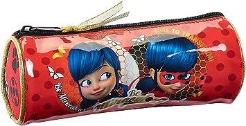 Safta Estuche Redondo Ladybug