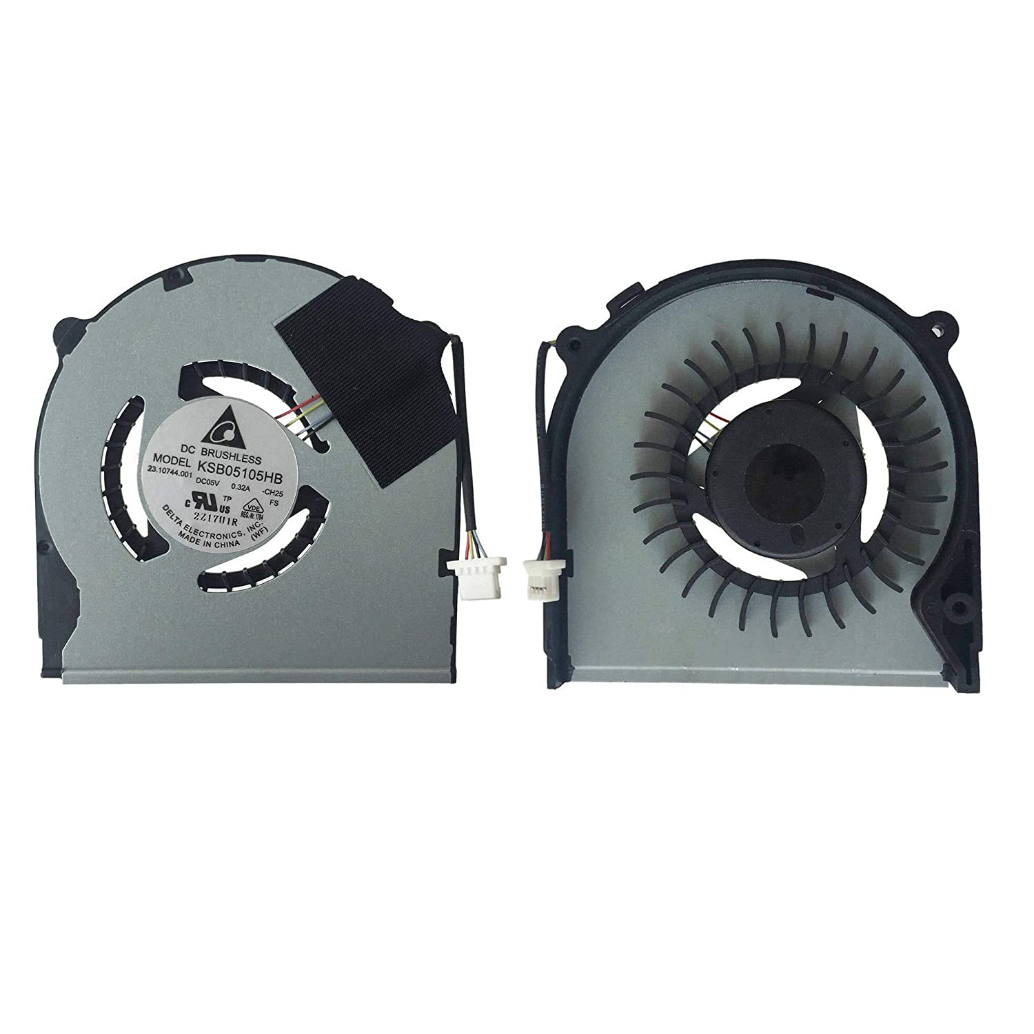 Todiys CPU Cooling Fan for Sony Vaio SVT13 SVT131A SVT14 SVT141A SVT1411 SVT1412 SVT15 SVT151A SVT1511A Series SVT131A11 SVT13122CXS SVT1411BPXS SVT131190X SVT151A11L SVT15117CXS KSB05105HB-CH25