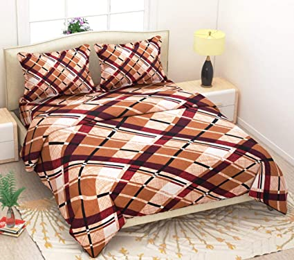 Magnetic Shadow Abstract Queen Size Elastic Fitted Bedsheets
