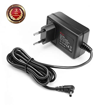 TAIFU+ 12V 2A Adaptador CA de Corriente para Medion Akoya S2218 2217 E2213 E2221T MD, Trekstor Primebook C13 P14 C11 LTE WiFi Portátil Primetab T13B ...