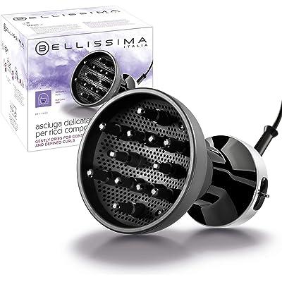 Imetec Bellissima DF1 1000 Difusor de Aire Caliente para Cabello Rizado, 700 W, 2 Combinaciones Aire/Temperatura, Secado Delicado, Rizos Definidos sin Efecto Encrespado