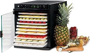 Tribest Sedona Express SDE-P6280-B Digital Food Dehydrator, Black with BPA-Free Plastic Trays