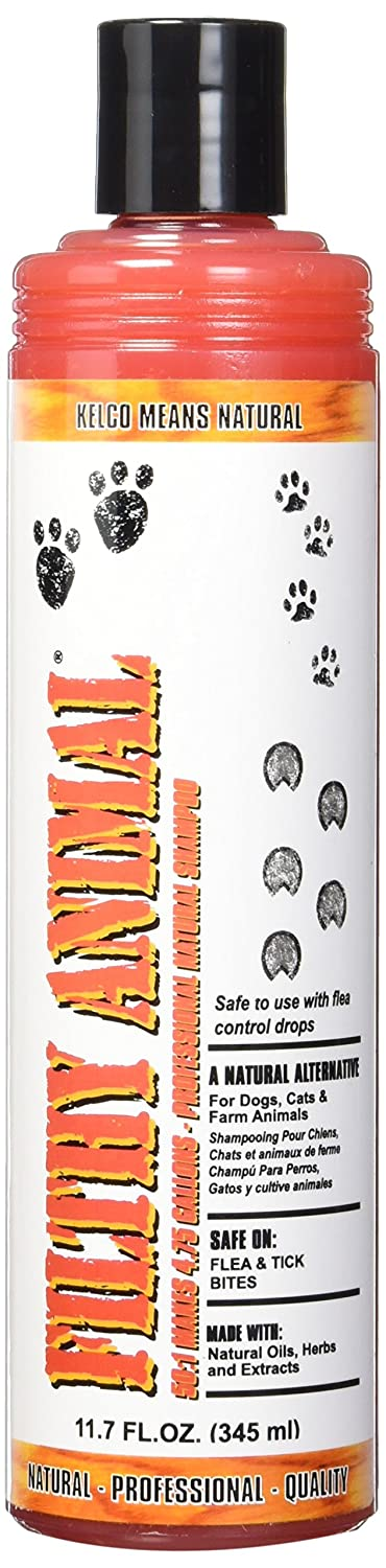 Pet Deodorizing Shampoos : Amazon.com: Kelco 50:1 Filthy Animal Shampoo, 11.7 fl. oz.
