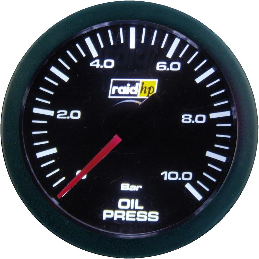 Raid Hp 660173 Zusatzinstrument Öldruckanzeige Serie Sport Auto