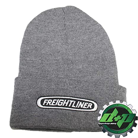 94646d5cf04 Image Unavailable. Image not available for. Color  Diesel Power Plus  Freightliner Beanie Trucks Gray ...