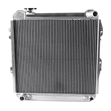 3 Rows Core Aluminum Radiator for 1988-1995 Toyota Pickup 4 Runner 3.0L V6 4WD