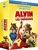 Alvin et les Chipmunks 1 à 4 [Blu-ray]
