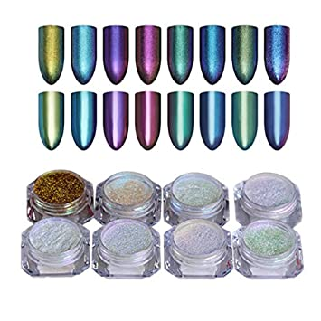 Born Pretty 1gbox Shinning Mirror Nail Glitter Powder Gorgeous Nail