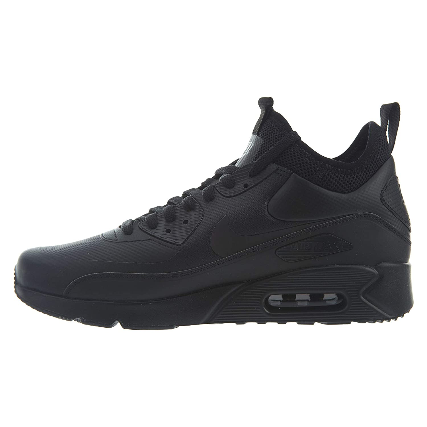 best website da70c 91605 Nike AIR MAX 90 Ultra MID Winter Ankle Boots/Boots Men Black Mid Boots