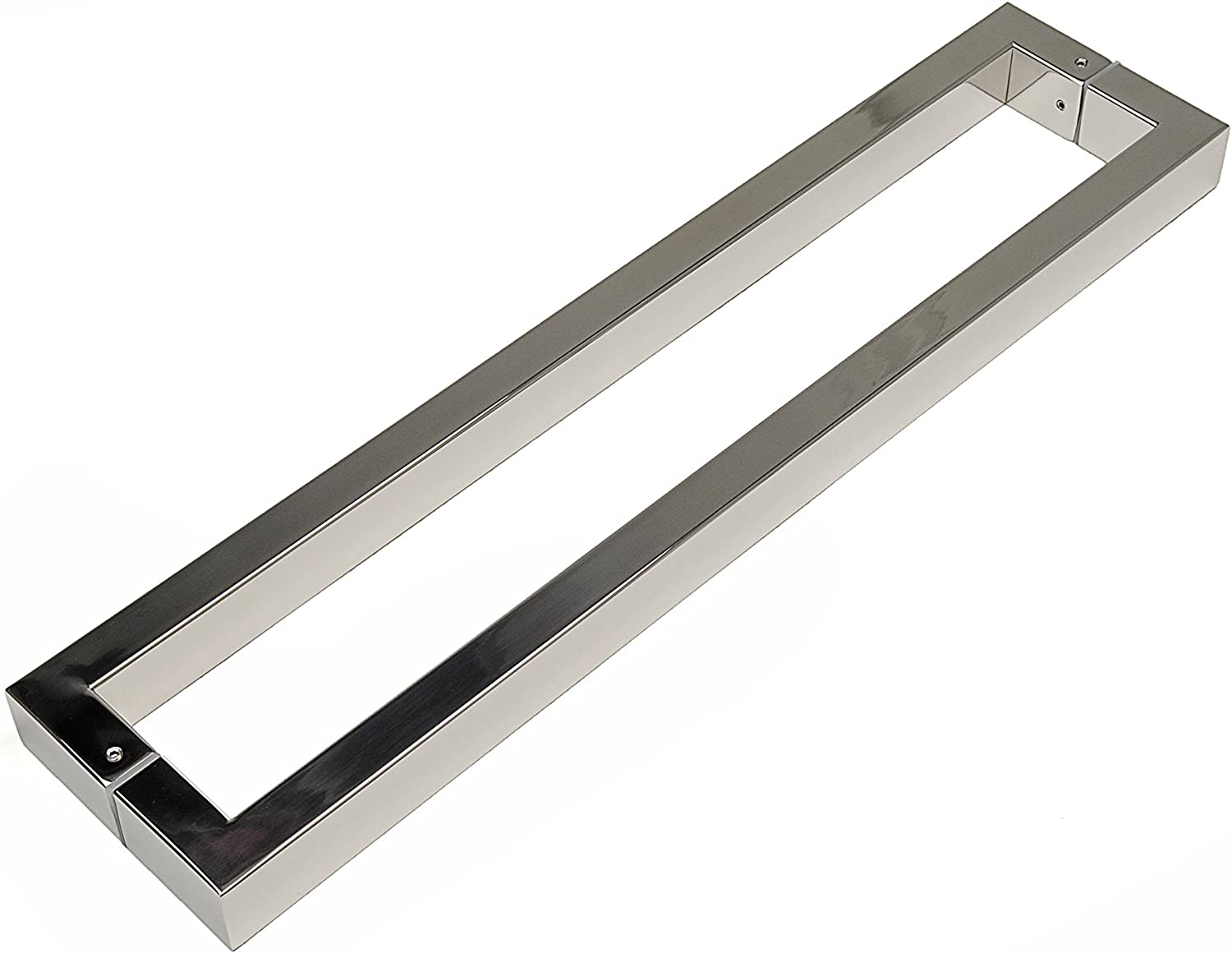 STRONGAR Modern /& Contemporary//Commercial//Residential//Rectangular//Square//812mm//32 inches Push-Pull Stainless-Steel Door Handle Polished Chrome Finish