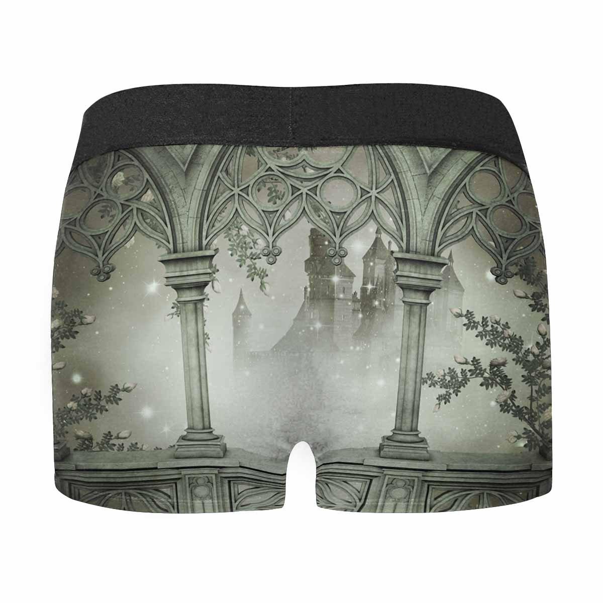 INTERESTPRINT Mens Boxer Briefs Underwear Palace Interior XS-3XL