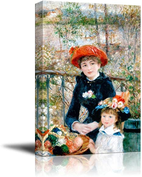 Print- 15 X 11 by Pierre-Auguste Renoir Two Sisters On the Terrace