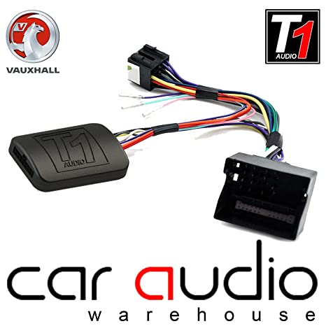 Juego tomzz Audio 2439/ /059/Radio brillante para Opel Corsa D Astra H Zafira B Piano Negro