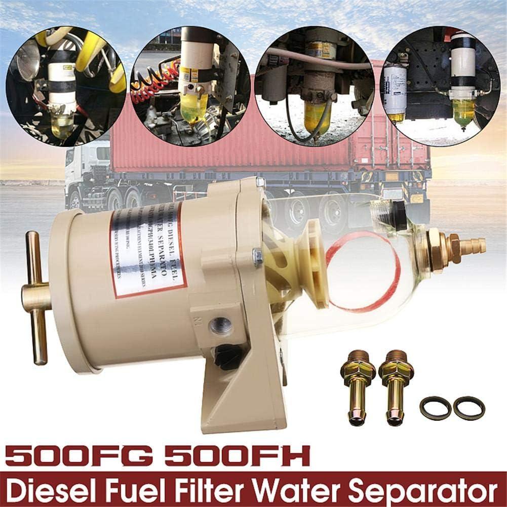 F/ür LKWs Eruditter Wasserabscheider F/ür Kompressor 500FG 500FH Druckminderer Druckluftregler Leichte LKWs Gro/ße Autos