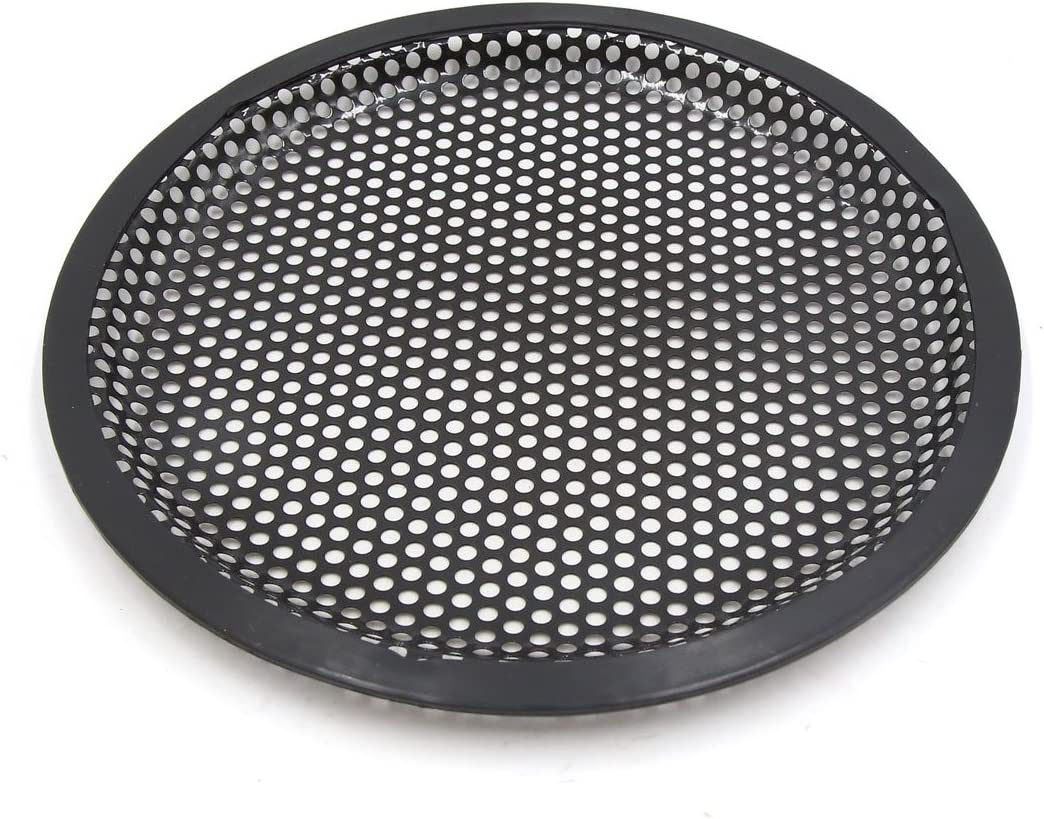 uxcell 6.5 Inch Car Stereo Metal Mesh Speaker Subwoofer Grill Cover Guard Protector 2Pcs