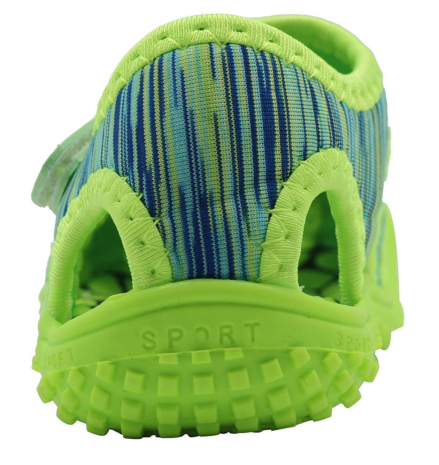 Apakowa Kids Girls Boys Lightweight Quick Dry Sandals Outdoor Sports Athletic Water Shoes Toddler//Little Kid