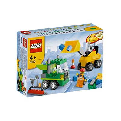 LEGO Road Construction Building Set 5930: Toys & Games