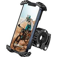 Autkors Fiets telefoonhouder, verstelbare fiets telefoonhouder voor fiets, motorfiets, telefoonhouder, 360 graden…