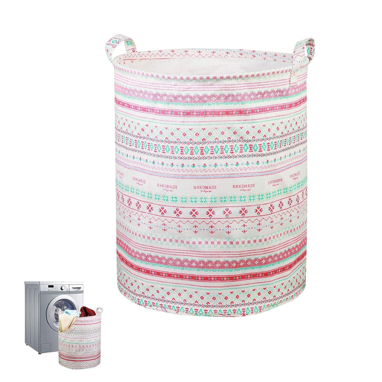 cesto juguetes infantil KAKOO cesto juguetes almacenaje de cesto plegable ropa sucia del material impermeable para guardarlo juguetes en habitación o baño: ...