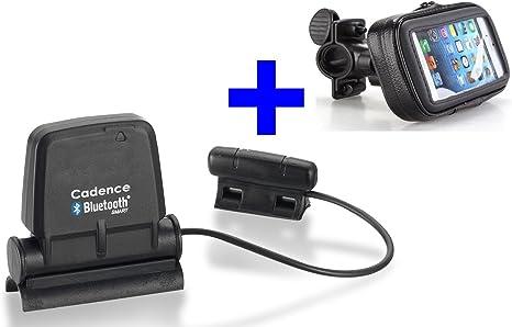 Sensor de Velocidad y Cadencia Bluetooth + Soporte Para Bicicleta ...