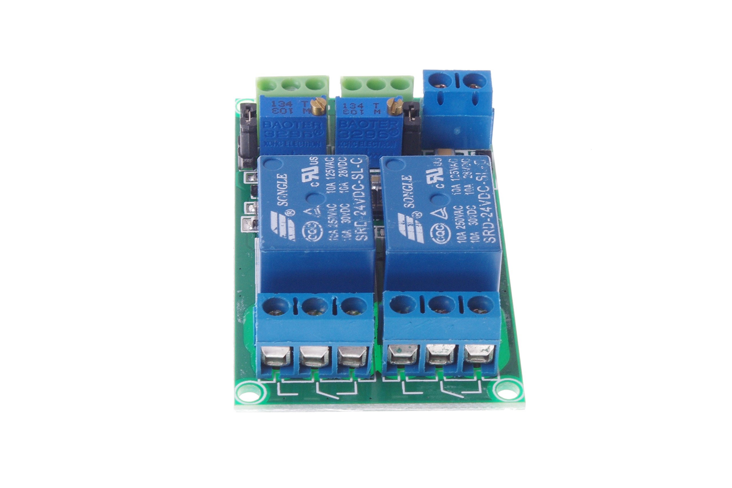 SMAKN® DC 24V 2-Channel Voltage Comparator LM393 Comparator Module
