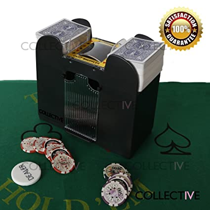 collectvie Deluxe 6-deck de póquer automático tarjeta ...
