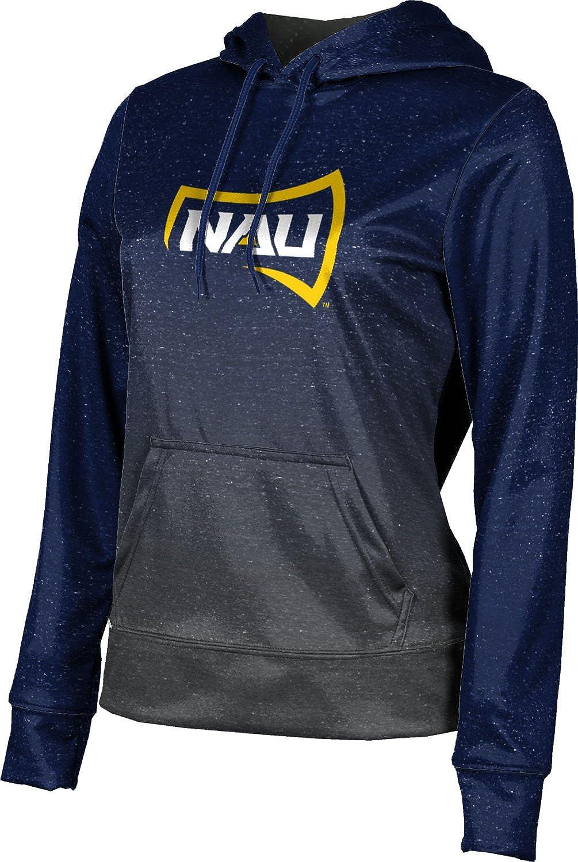 School Spirit Sweatshirt Ombre Northern Arizona University Girls Pullover Hoodie