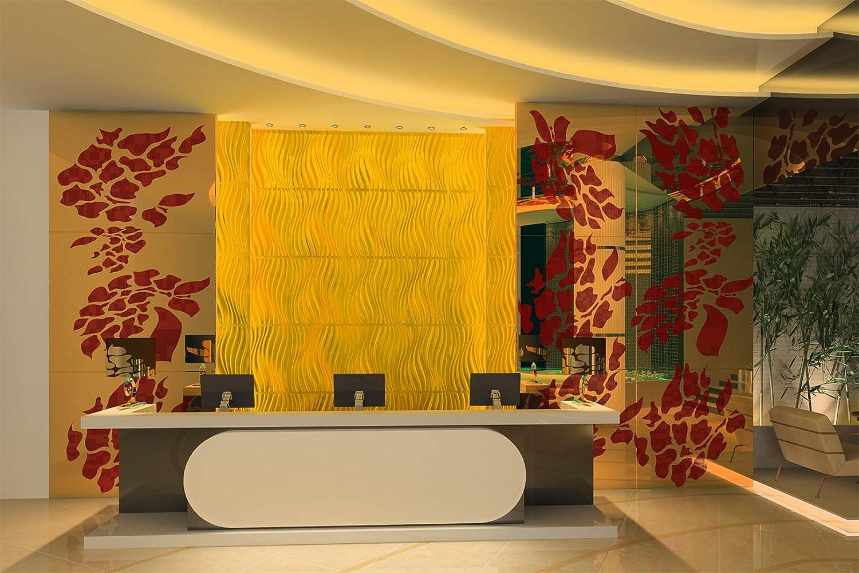 62x80cm ELEANOR Panneau De Rev/êtement Mural 3D 5 m2 Plafond