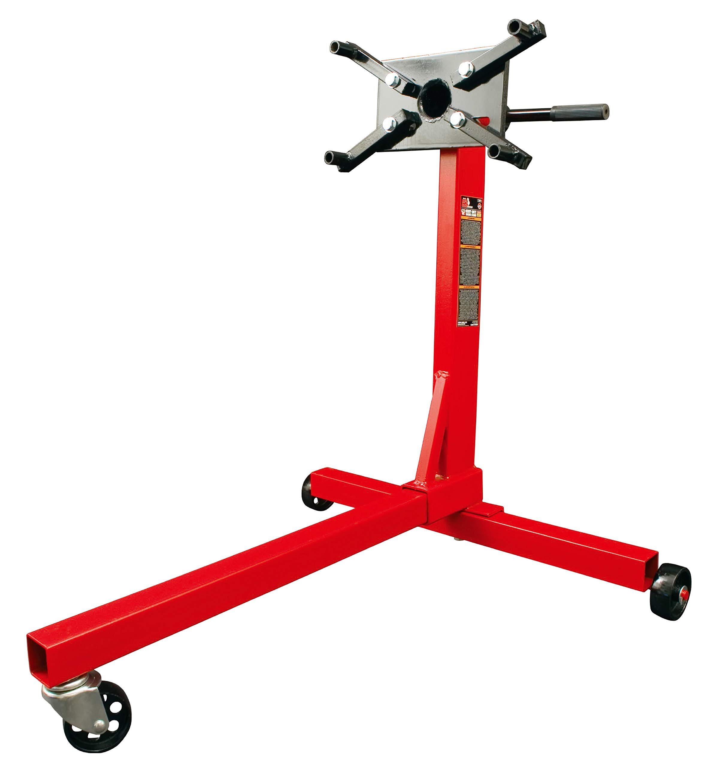 Torin Big Red Steel Rotating Engine Stand: 750 lb Capacity by Torin