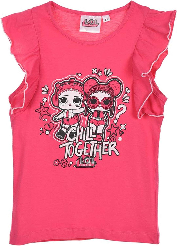 Entertainment LOL Surprise ET1312 T-Shirt Cotone Bambina Maglia