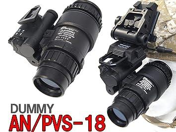 Taktische pvs18 monokulare teleskop scope dummy spielzeug abbildung