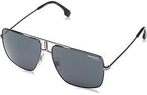 053aceffb33bc2 Amazon.com  Carrera 1006 s Rectangular Sunglasses, Black   Gold, 14 ...
