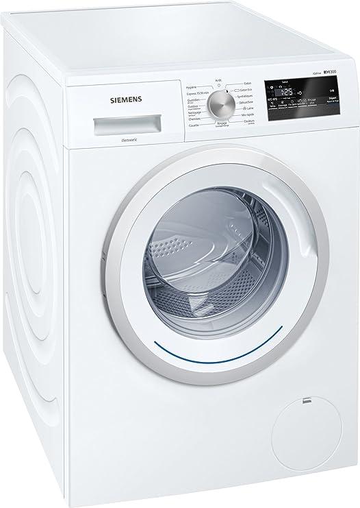 Siemens iQ300 WM14N160FF Independiente Carga frontal 8kg 1400RPM ...