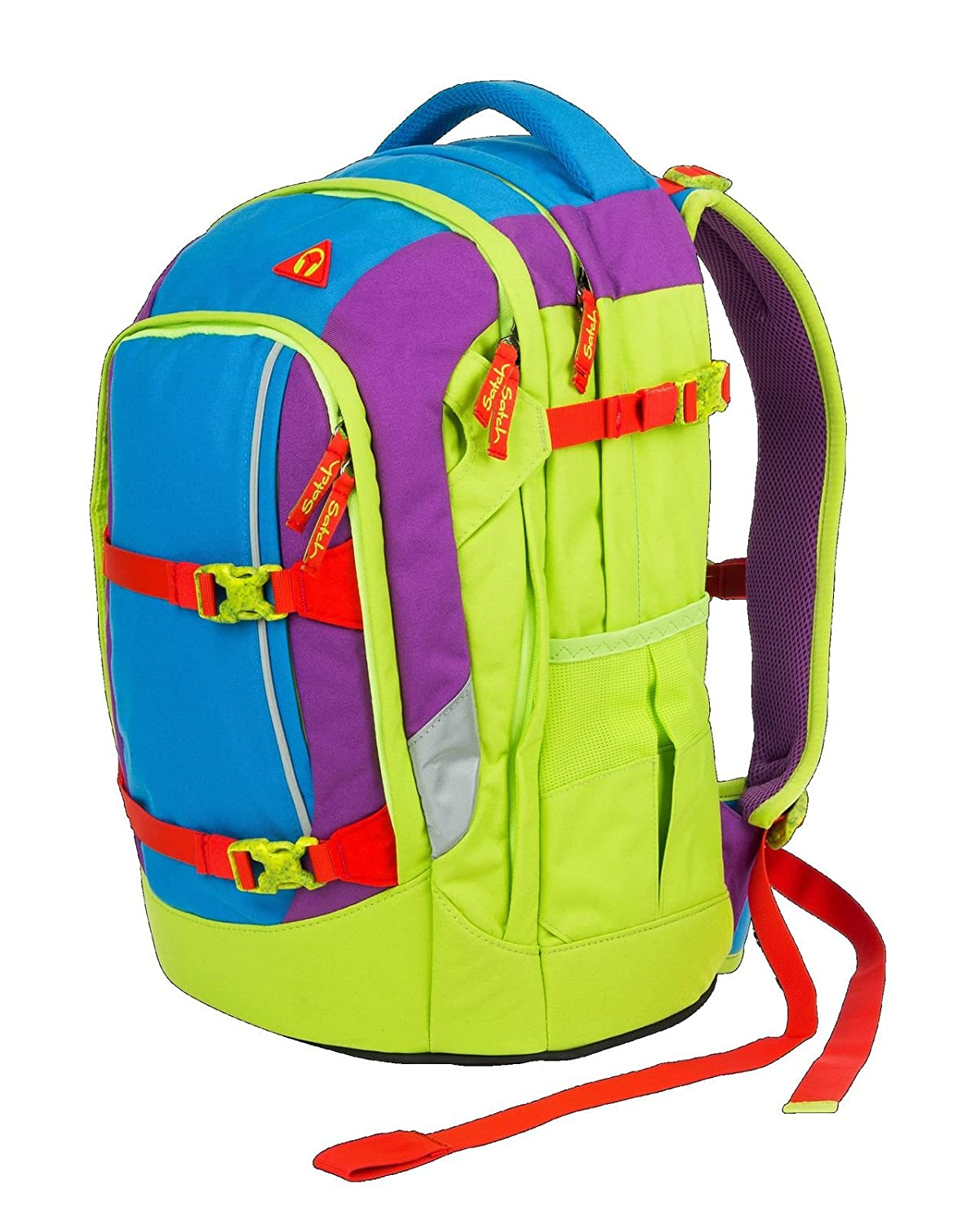 Satch Satch Satch pack Flash Jumper 3er Set Rucksack, Heftebox & Regencape Blau B071VK6LKF | München Online Shop