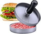 Burger Press Niviy Hamburger Press Non-Stick Patty Maker Heavy Duty Aluminum Hamburger Mold for Stuffed Burger BBQ Grill